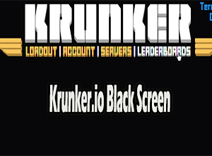 krunker.io black screen
