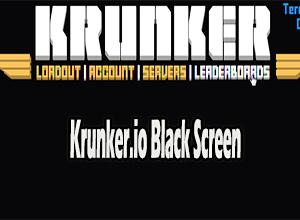 Photo of Krunker.io Black Screen Issue