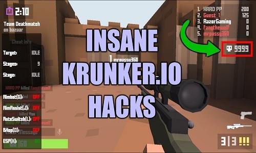 Krunker io Hacks Script - Krunker io Play, Mods